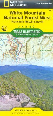 New Hampshire: Map for White Mountains National Forest West
