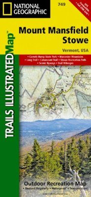 Vermont: Map for Mount Mansfield/Stowe