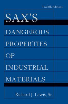 Sax's Dangerous Properties of Industrial Materials (5-Volume Set)
