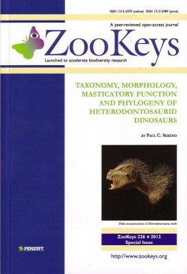ZooKeys 226: Taxonomy, Morphology, Masticatory Function and Phylogeny of Heterodontosaurid Dinosaurs
