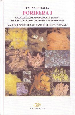 Fauna d'Italia, Volume 46: Porifera I [English]