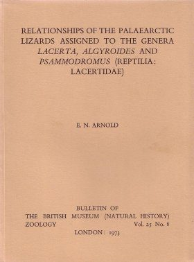 Bulletin of the British Museum (Zoology), Vol. 25, No. 8