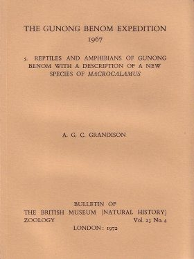 Bulletin of the British Museum (Zoology), Vol. 23, No. 4