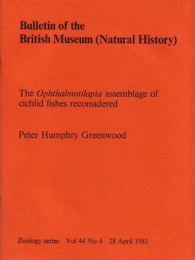 Bulletin of the British Museum (Zoology), Vol. 44, No. 4