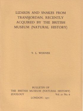 Bulletin of the British Museum (Zoology), Vol. 21, No. 6