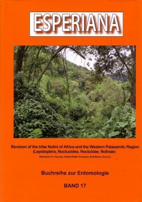 Esperiana, Volume 17: Revision of the Tribe Nolini of Africa and the Western Palaearctic Region (Lepidoptera, Noctuoidea, Noctuidae, Nolinae)