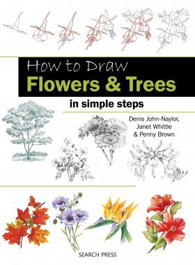 How to Draw Flowers & Trees