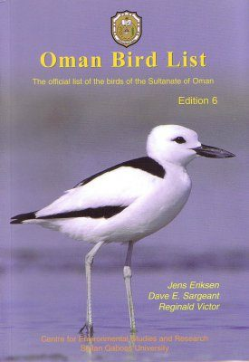 Oman Bird List
