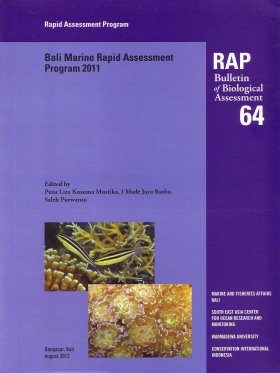 Bali Marine Rapid Assessment Program 2011