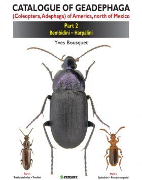 Catalogue of Geadephaga (Coleoptera, Adephaga) of America, North of Mexico, Part 2