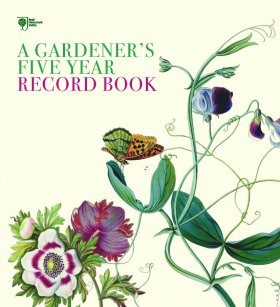 RHS A Gardener's Five Year Record Book