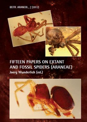 Fifteen Papers on Extant and Fossil Spiders (Araneae)