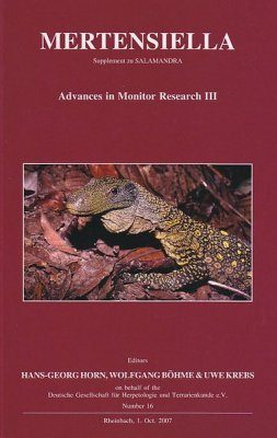 Advances in Monitor Research III