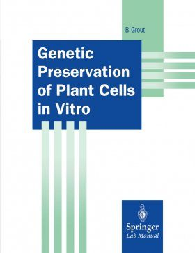 Genetic Preservation of Plant Cells in Vitro