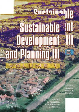 Sustainable Development and Planning III (2-Volume Set)
