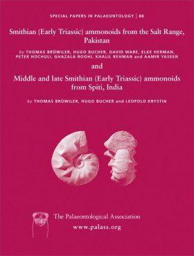 Smithian (Early Triassic) Ammonoids from the Salt Range (Pakistan) and Middle and Late Smithian (Early Triassic) Ammonoids from Spiti (India)
