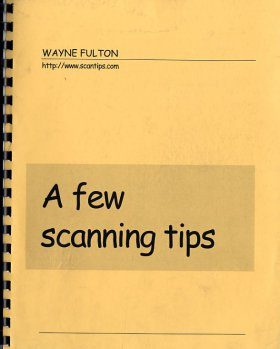 A Few Scanning Tips