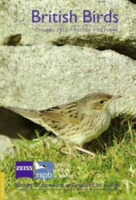 British Birds Report on Rare Birds in Great Britain in 2012