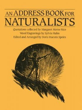 Address Book for Naturalists