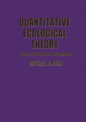 Quantitative Ecological Theory
