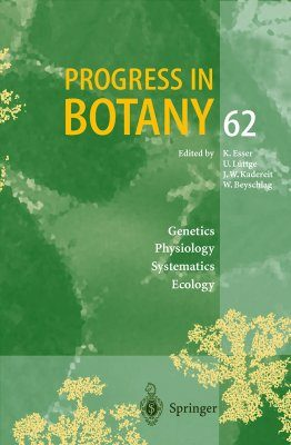 Progress in Botany, Volume 62