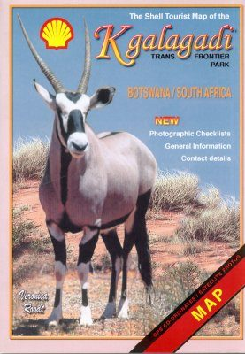 The Shell Tourist Map of the Kgalagadi Transfrontier Park