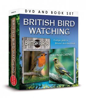 British Bird Watching DVD & Book Gift Set (Region 2)