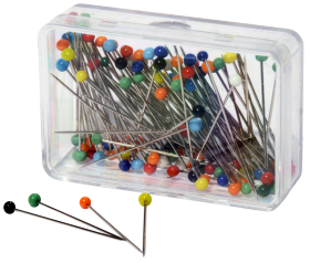 Plastic Headed Pins