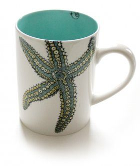Jersey Pottery Star Fish Mug