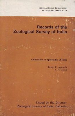 A Check List of Aphidoidea of India