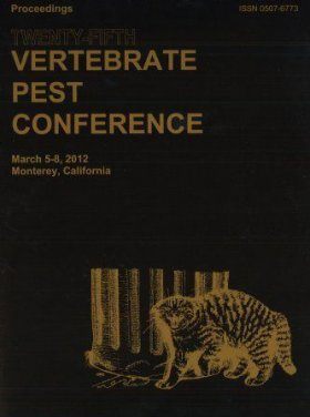 Proceedings of the Twenty-Fifth Vertebrate Pest Conference