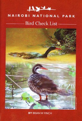 Nairobi National Park Bird Check List