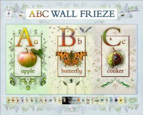 ABC Wall Frieze