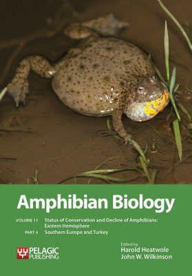 Amphibian Biology, Volume 11, Part 4