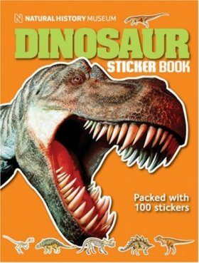 The Natural History Museum Dinosaur Sticker Book