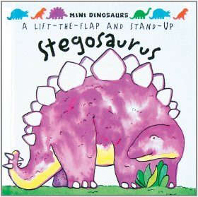 A Lift the Flap and Stand Up Stegosaurus