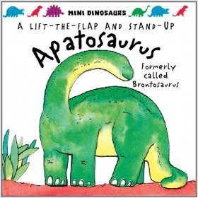 A Lift the Flap and Stand Up Apatosaurus