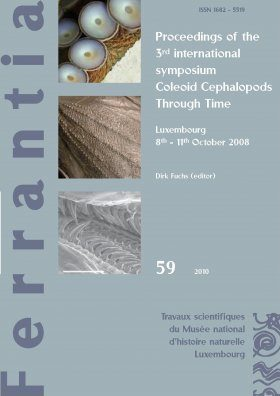 Ferrantia, Volume 59: Proceedings of the 3rd international symposium Coleoid Cephalopods Through Time