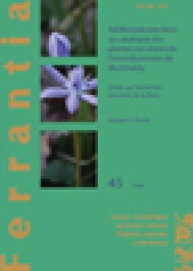 Ferrantia, Volume 45: Additions et Corrections au Catalogue des Plantes Vasculaires de L'Arrondissement de Montmédy