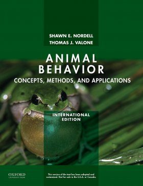 Animal Behavior: Concepts, Methods, and Applications (International Edition)