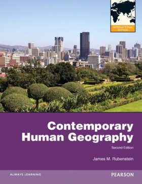 Contemporary Human Geography (International Edition)
