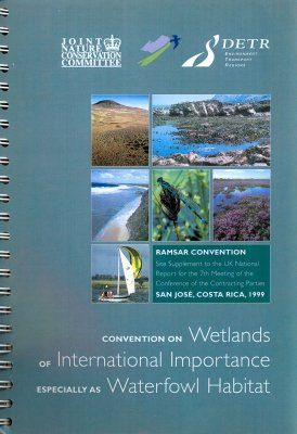 Ramsar Convention: Site Supplement to the UK National Report for the 7th Meeting of the Conference of the Contracting Parties, San José, Costa Rica, 1999