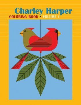 Charley Harper Coloring Book, Volume 1