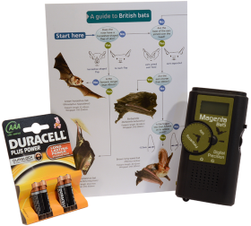 Beginners Bat Detecting Kit