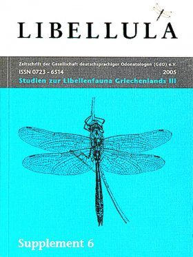 Libellula Supplement 6: Studien zur Libellenfauna Griechenlands, 3