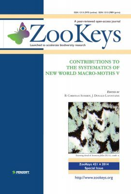 ZooKeys 421: Contributions to the Systematics of New World Macro-Moths V