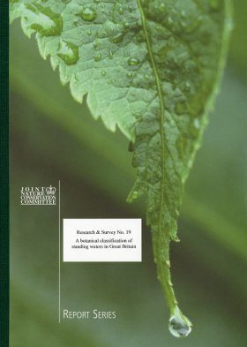 A Botanical Classification of Standing Waters in Great Britain & a Method for the Use of Macrophyte Flora in Assessing Changes in Water Quality