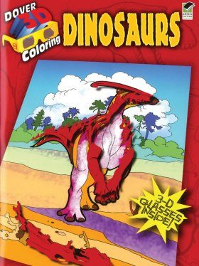 Dinosaurs (Dover 3-D Coloring Book)