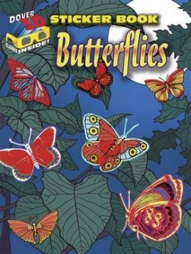 3-D Sticker Book - Butterflies