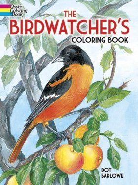 Birdwatcher's Coloring Book